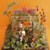 オーナーはレストランの季節ごとのフラワーアレンジも担当。季節ごとの花材を数多く取り揃えております