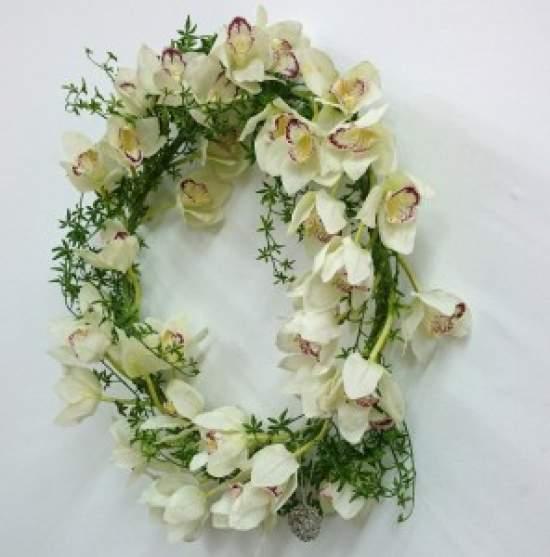 (作品例)大輪の蘭のドアリース