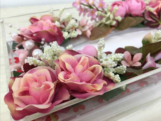 (作品例)プリンセス気分を味わえる。大きなバラがいっぱいです。