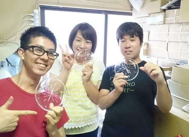 亀戸【ディズニー公認の職人が教える江戸切子づくり】伝統工芸が光るお皿作り