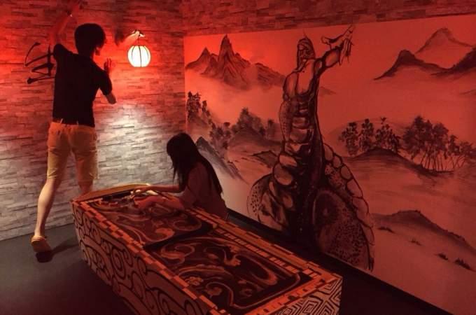 池袋【脱出ゲーム】伝説の古代皇帝陵の冒険「軒轅陵(けんえんりょう)」 Lv.5(上級者向け)
